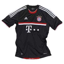 Uniforme 3 do Bayern M�nchen - Temporada 2011/2012