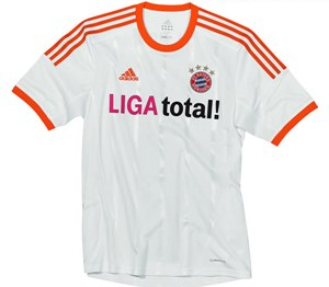 Uniforme 2 do Bayern M�nchen - Temporada 2012/2013