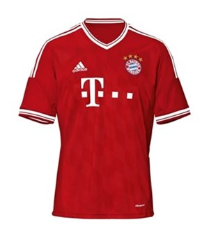 Uniforme 1 do Bayern M�nchen - Temporada 2013/2014