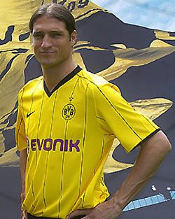 Uniforme 1 do Borussia Dortmund - Temporada 2008/2009