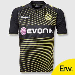 Uniforme 2 do Borussia Dortmund - Temporada 2009/2010