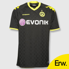 Uniforme 2 do Borussia Dortmund - Temporada 2010/2011