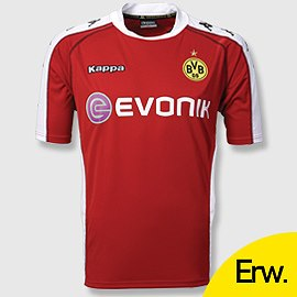 Uniforme 3 do Borussia Dortmund - Temporada 2010/2011
