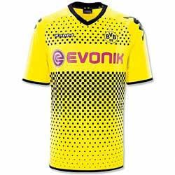 Uniforme 1 do Borussia Dortmund - Temporada 2011/2012