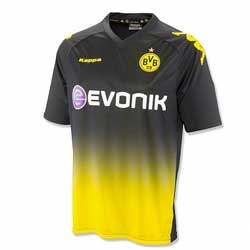 Uniforme 2 do Borussia Dortmund - Temporada 2011/2012