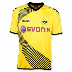 Uniforme da Champions League do Borussia Dortmund - Temporada 2011/2012