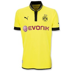 Uniforme 1 do Borussia Dortmund - Temporada 2012/2013