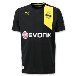Uniforme 2 do Borussia Dortmund - Temporada 2012/2013