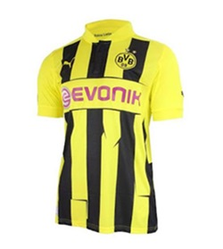 Uniforme da Champions League do Borussia Dortmund - Temporada 2012/2013