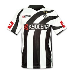 Uniforme 1 do Borussia M�nchengladbach - Temporada 2007/2008