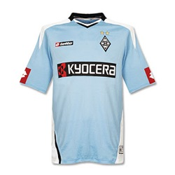 Uniforme 3 do Borussia M�nchengladbach - Temporada 2007/2008
