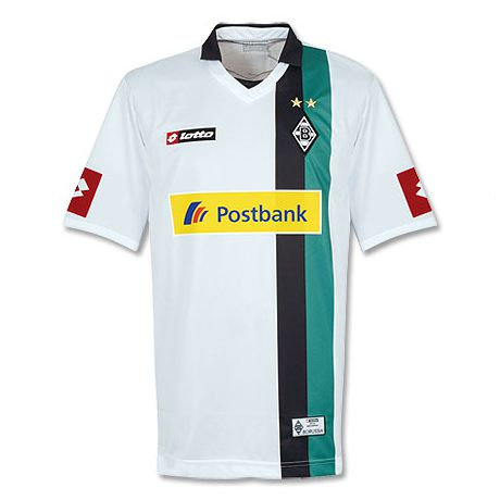 Uniforme 1 do Borussia M�nchengladbach - Temporada 2009/2010