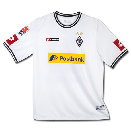 Uniforme 1 do Borussia M�nchengladbach - Temporada 2010/2011