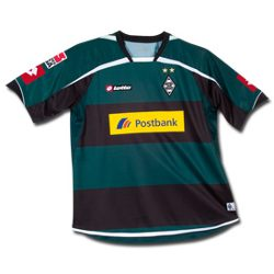 Uniforme 2 do Borussia M�nchengladbach - Temporada 2010/2011