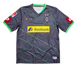 Uniforme 2 do Borussia M�nchengladbach - Temporada 2011/2012