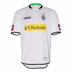 Uniforme 1 do Borussia M�nchengladbach - Temporada 2012/2013