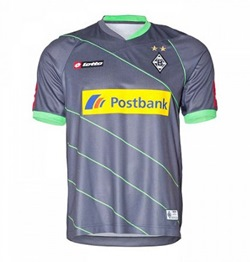 Uniforme 2 do Borussia M�nchengladbach - Temporada 2012/2013