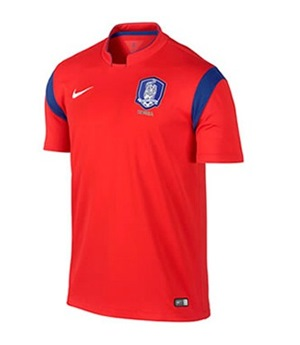 Uniforme 1 da Sele��o da Coreia do Sul para a Copa do Mundo de 2014