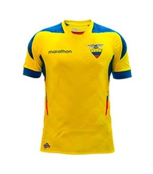Uniforme 1 da Sele��o do Equador para a Copa do Mundo de 2014