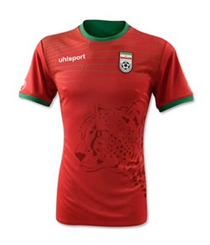 Uniforme 2 da Sele��o do Ir� para a Copa do Mundo de 2014
