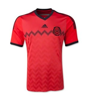 Uniforme 1 da Sele��o do M�xico para a Copa do Mundo de 2014