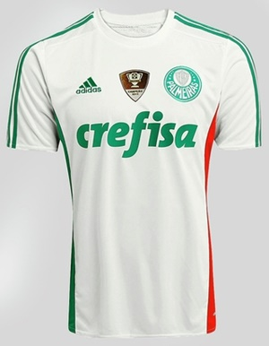 5e1cc4b24c345 ... Uniforme 2 do Palmeiras na Copa Libertadores da América 2016 ...