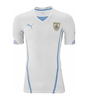 Uniforme 2 da Sele��o do Uruguai para a Copa do Mundo de 2014