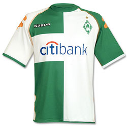 Uniforme 2 do Werder Bremen - Temporada 2007 2008 7548521d7932f
