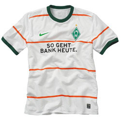 Uniforme 2 do Werder Bremen - Temporada 2009/2010